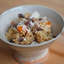 Pumpkin Risotto Recipe Vegan by Roasted Butternut Squash Risotto With Sugared Walnuts Recipe