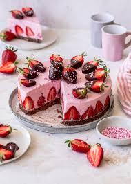 erdbeermousse torte