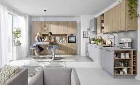 nolte tavola die helle eichen küchenfront in echtholz