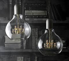 mini chandelier in a light bulb the edison l