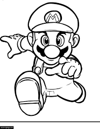 Mario Brothers Coloring Pages Printable