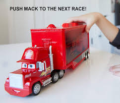 Buy Disney Pixar Cars Mini Racers Mack Transporter (FLG70) Online At ... Amazoncom Cars Mack Truck Playset Toys Games Disney Pixar Cars Movie Exclusive Talking Transporter With No 95 Metal Free Mcqueen Car 86 In Trouble Train Cartoon For And Race Trucks Color Jerry Trucks Reviews News Pixars Truck Trailer Skin Mod American Simulator Disneypixar Walmartcom The Another Cake Collaboration My Husband Pink Tour Is Back To Bring More Highoctane Fun