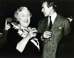 Agatha Christie And Collins Enjoying A Drink At Party
