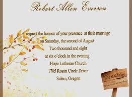 Free Wedding Invitation Samples Unique Fall Invitations For Autumn Ideas