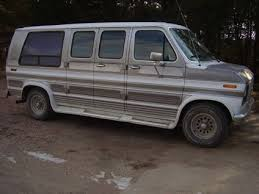 2200 1989 Ford E150 Conversion Van