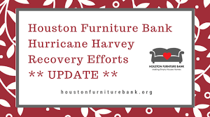 Houston Furniture Bank Hurricane Harvey Recovery Efforts Paused
