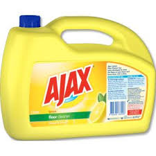 ajax floor cleaner lemon 5 litre staples now winc