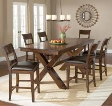 Walmart Dining Table Chairs by Dining Room Mid Century Dining Chairs With Trestle Dining Table