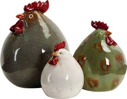 Christmas Tree Shop Deptford Nj by August Grove Stylized Chickens 3 Piece Figurine Set U0026 Reviews