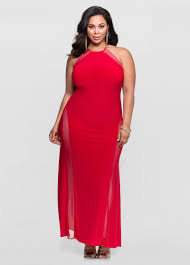 mesh curve special occasion dress plus size dresses ashley stewart