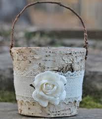 57 best flower girl basket images on Pinterest