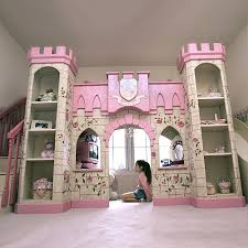 Princess Castle Playhouse Loft Bed and Luxury Baby Cribs in Baby