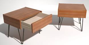 Pedicraft Canopy Bed by Mid Century Modern Bedside Tables Reloc Homes