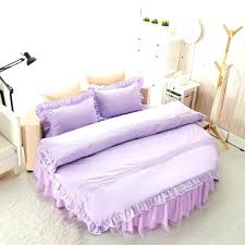round bed sheet sets