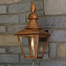 copper outdoor gas lighting signature hardware