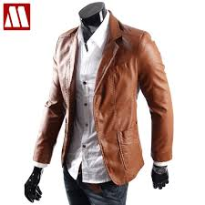 compare prices on brown mens leather jacket online shopping buy