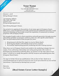Real Estate Cover Letter Sample & Writing Tips