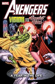 Avengers Vision And The Scarlet Witch