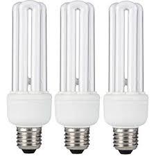 3 x status 20w 100w equivalent e27 es cfl energy saving light