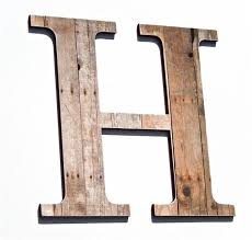 Rustic Initial Wall Decor Extraordinary Wall Decor 20 Ideas Letter