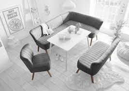 marcel essgruppe eckbank 2 sitzer stuhl esszimmer silber