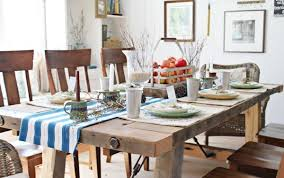 Image Of Farmhouse Dining Room In Rustic Idea