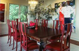 Custom Made Queen Anne Walnut Dining Table And Chairs