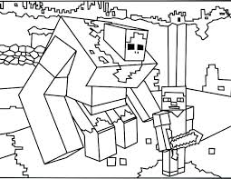 Minecraft Coloring Pages Mutant Creeper Com In Dog