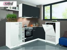 l küche 245 x 195 cm matt weiß anthrazit win