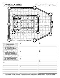 Daniel F Walthall On Twitter Dunbrill Castle Free Map 26 Is Here And Ready For Your Eyeholes Tco AwYmokZlvm DnD RPG OSR Drawing