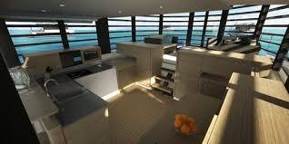 cuisine bateau kayflo la maison bateau pour vivre sur l eau