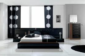 chambre a coucher blanc design chambre blanc et noir idées de décoration capreol us