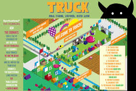 Truck Festival Map | Gigs - Concerts - Live | Pinterest | Truck ... Delivery Goods Flat Icons For Ecommerce With Truck Map And Routes Staa Stops Near Me Trucker Path Infinum Parking Europe 3d Illustration Of Truck Tracking With Sallite Over Map Route City Mansfield Texas Pennsylvania 851 Wikipedia Road 41 Festival 2628 July 2019 Hill Farm Routes 2040 By Us Dot Usa Freight Cartography How Much Do Drivers Make Salary State Map Food Trucks Stock Vector Illustration Dessert