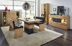 esszimmer komplettset ohne sitzbänke bianco eiche hell günstig möbel küchen büromöbel kaufen froschkönig24