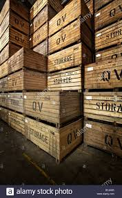 Warehouse Wooden Storage Crates Potato Vertical