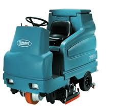 tennant 7100 battery rider scrubber quality cleaning equipment