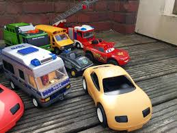 Selection Of Trucks Inc Playmobile And Little Tikes