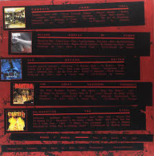 pantera the complete studio albums 1990 2000 5 lp colored vinyl