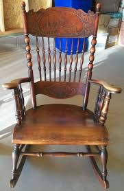 USN Maine Rocking Chair - Made Early 1900's | Collectors Weekly