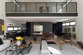 100 Modern Design Homes Interior Industrial In Beautiful Open House 3 Ideas