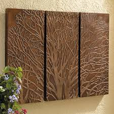 Bronze And Copper Wall Art