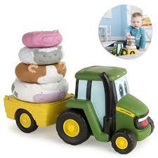 100 Toy Farm Trucks John Deere Stackers Car Truck Vehicle Model Diecast S For