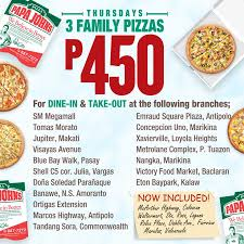 Papa John's 3 Family Pizzas For Only Php450 - Available ... Papa Johns Coupons Shopping Deals Promo Codes January Free Coupon Generator Youtube March 2017 Great Of Henry County By Rob Simmons Issuu Dominos Sales Slow As Delivery Makes Ordering Other Food Free Pizza When You Spend 20 Always Current And Up To Date With The Jeffrey Bunch On Twitter Need Dinner For Game Help Farmington Home New Ph Pizza Chains Offer Promos World Day Inquirer 2019 All Know Before Go Get An Xl 2topping 10 Using Promo Johns Coupon 50 Off 2018 Gaia Freebies Links