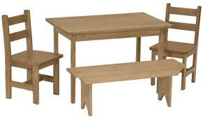 Amazon.com : Amish Buggy Toys Kid's Wooden Play Table Set ...