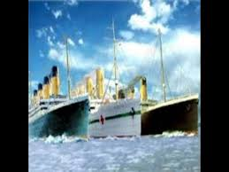 titanic and britannic sinking side by side youtube