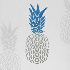 Pineapple Pattern Stencil Wall Stencils Small