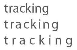 Tracking Kerning And Leading