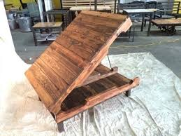 Coffee Table Hinged Top Pallet Coffee Table With Hinged Top Pallet