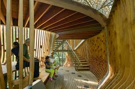 100 Tree House Studio Wood Modus Studio Sculpts Native Pine Ribs Into Evans Tree House In Arkansas