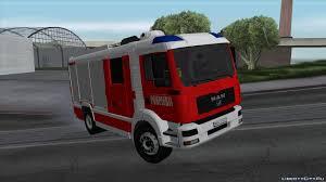 100 Gta Iv Fire Truck Mods Replacement Of Firetruk In GTA San Andreas 78 File